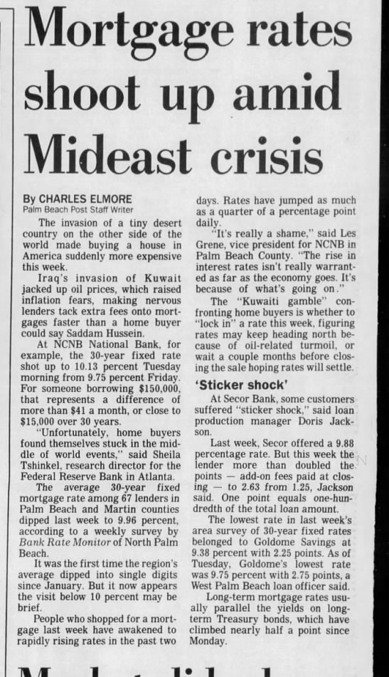 08 Aug 1990 Palm Beach Post - Ml ortgage rates shoot up amid ideast crisis M...