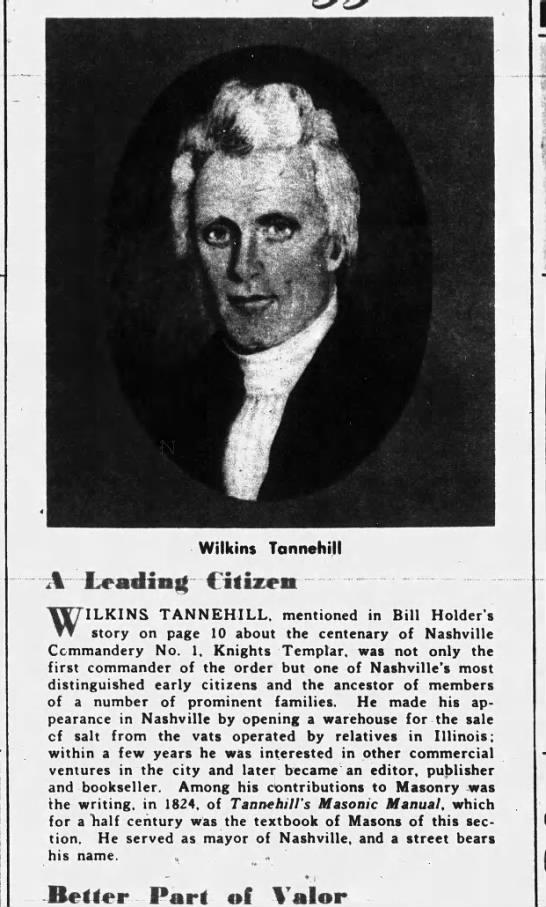wilkins tannehill story