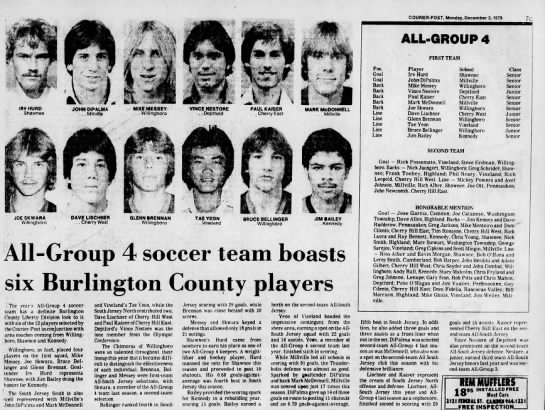 John All-Group 4 - 7C ALL-GROUP ALL-GROUP ALL-GROUP 4 FIRST TEAM...