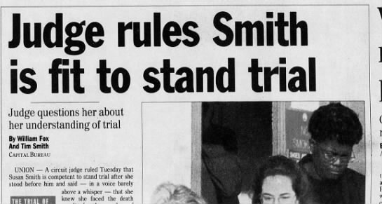 Susan smith July 12 - Judge questions her about her understanding of...
