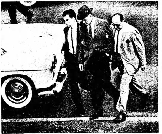 James H. Malcotte Makes An Arrest