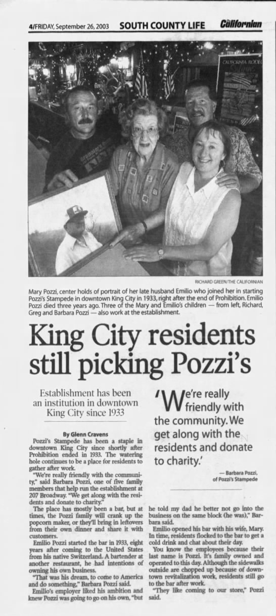 - 4FRIDAY, September 26, 2003 SOUTH COUNTY LIFE...