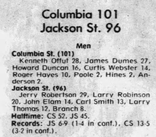 Dad 27 - Columbia 101 Jackson St. 96 Men .'- .'-...