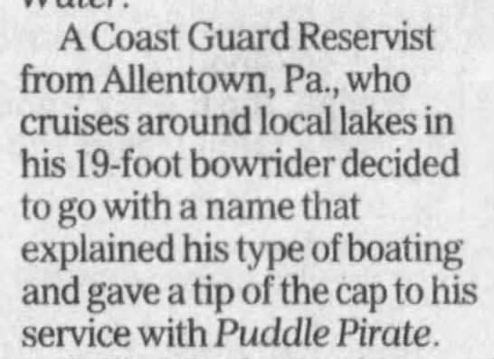 - A Coast Guard Reservist from Allentown, Pa.,...