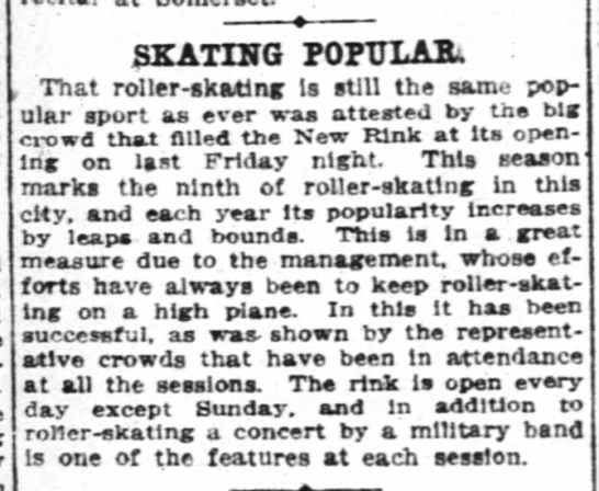 - SKATING POFTJXAJU That roller-skating...