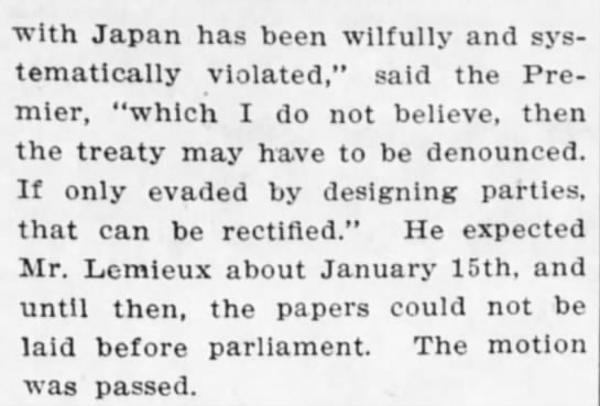 - with Japan has been wilfully and systematically...