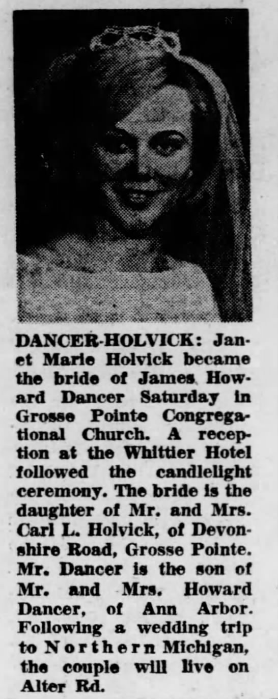 Holvick Dancer Wedding