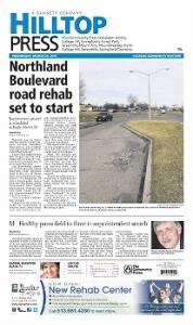 Sample Hilltop Press front page