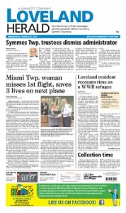 Sample Loveland Herald front page