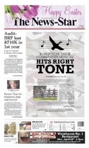 Sample The News-Star front page