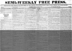Semi-weekly Free Press