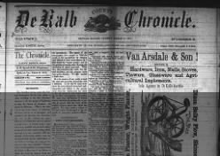 The De Kalb Chronicle
