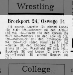 Oswego vs Brockport