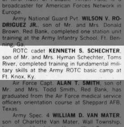 Ken Schechter ROTC