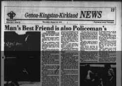 Genoa Kingston Kirkland News