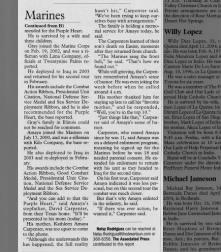 Obit of Daniel R Amaya - Apr 2004 - Palm Springs CA part 2