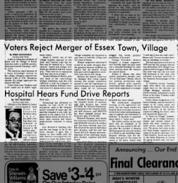 BFP - Essex rejects merger - 1982