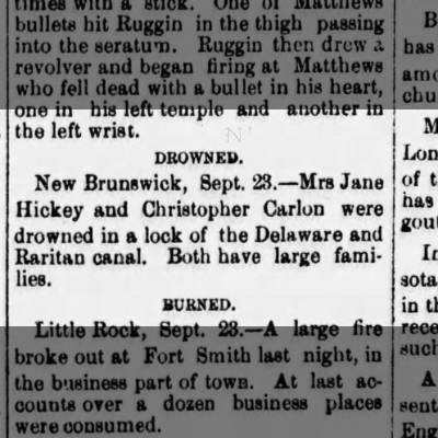 Death of Christopher Carlon