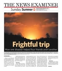 Sample The News-Examiner front page