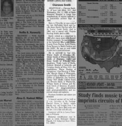 Smith Clarence b1921 1995 obituary