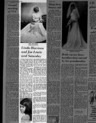 1971 Sister of Martha Bodde's wedding