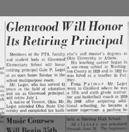 june 1972 principal gale leget