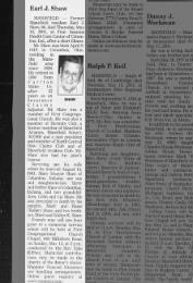 Earl Joseph Shaw Obituary