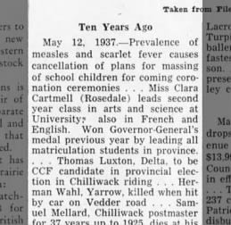 14 May 1947, page 2 The Chilliwack Progress