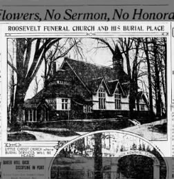 Church where T. Roosevelt's funeral was held