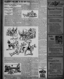 Detailed account of Rose Parade entries for 1898