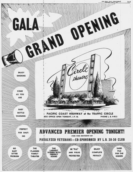 Circle Drive-In opening 1