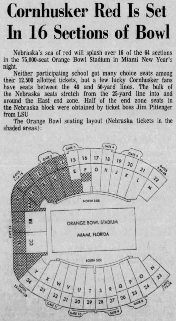 1970.12.26 Stadium sections