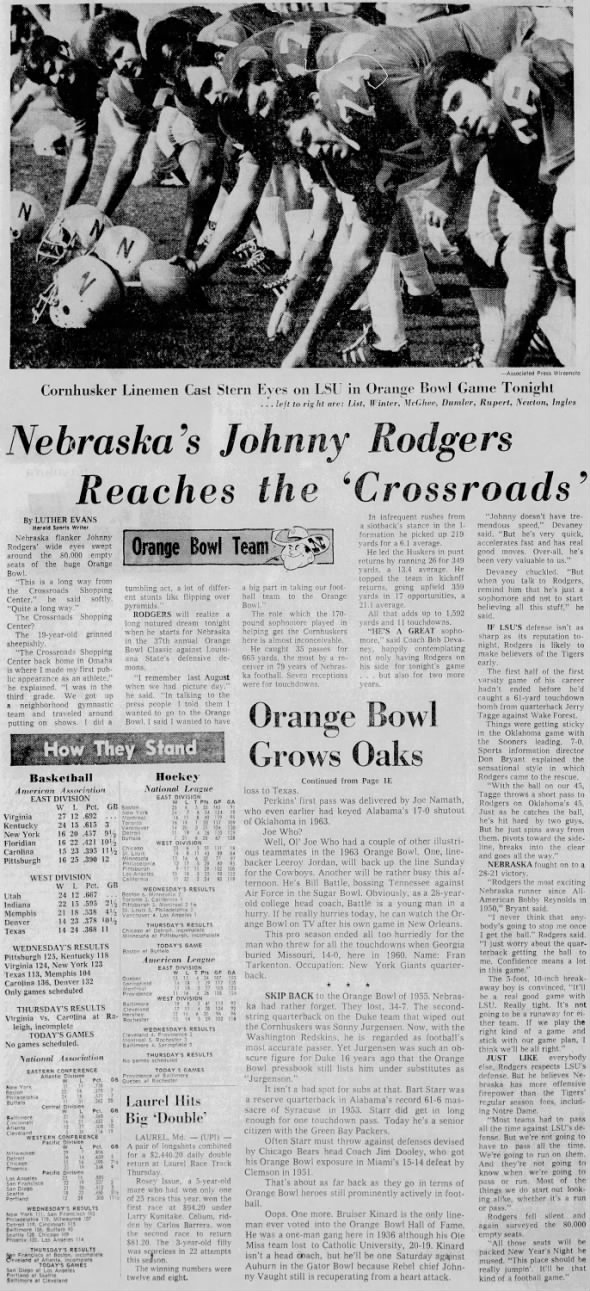 1971.01.01 Johnny Rodgers feature