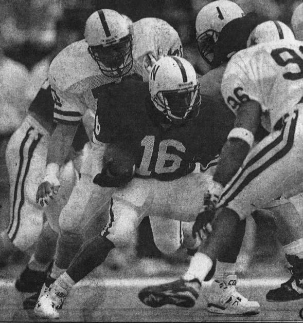 1992 Nebraska football spring game photo
