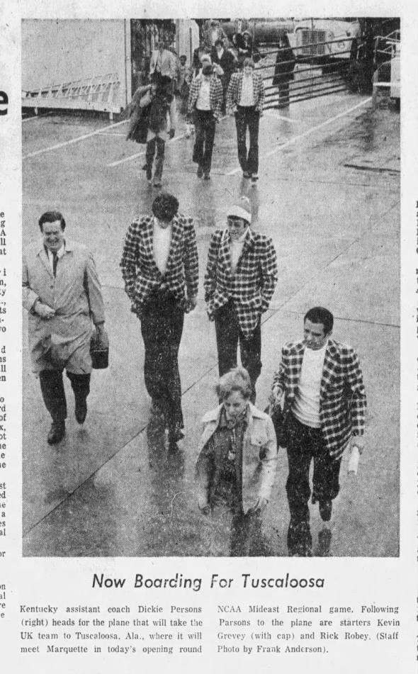 19750315 ky-lexington leader cbk75 wildcats vs. marquette in tuscaloosa2