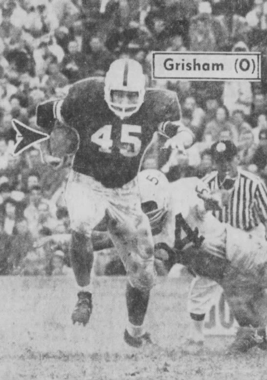 1962 Nebraska-Oklahoma football, Grisham run