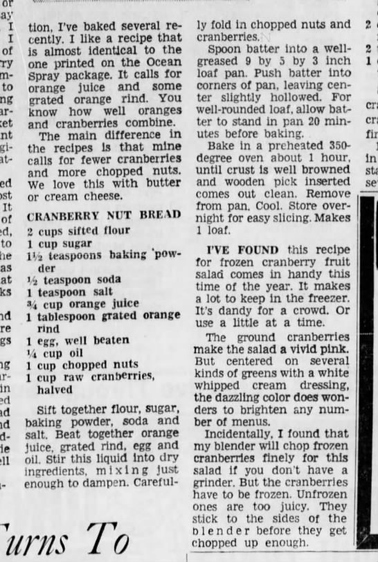 Cincinnati Enquirer, 16 November, 1966 - or say I I of to great-grandmother. It of to as...