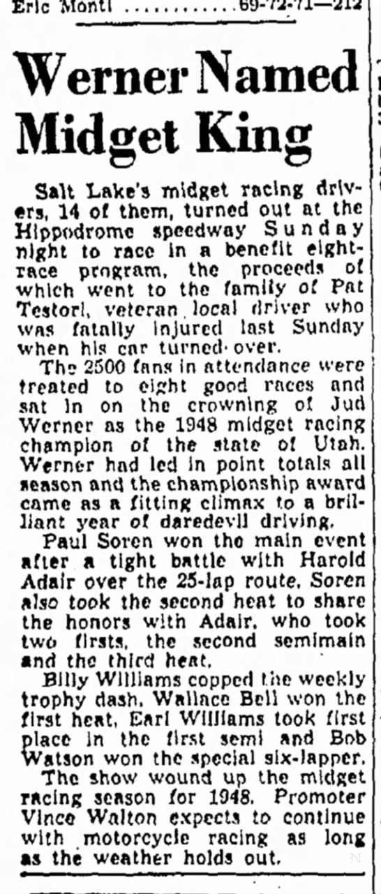 The Salt Lake Tribune (Salt Lake City, Utah) September 6 1948 page18