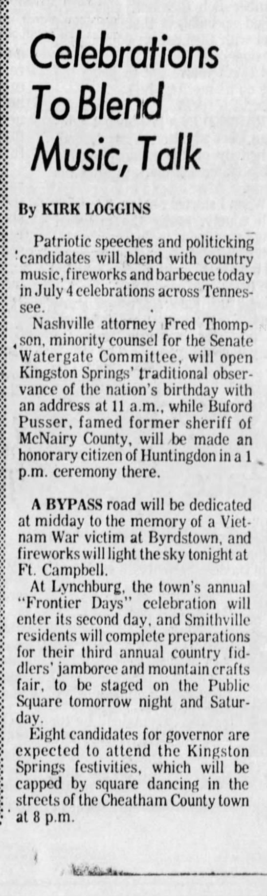 1974-07-04 TENNESSEAN Celebrations To Blend Music, Talk_25 - p:: jij K ft Celebrations To Blend Music, Talk...