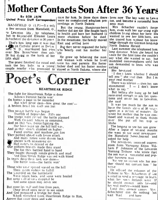 1951.1204.Statesville Record ... (NC).p5 - Mother Contacts Son After Ru oriD l A i h i . ....