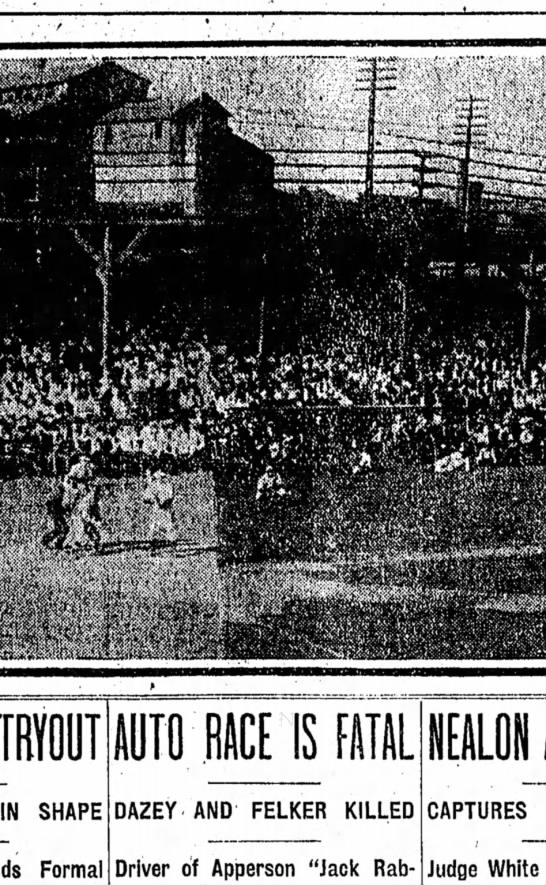 Washington Park Photo showing interior view during game Indians vs Louisville, Sept. 2, 1907 - null . ,.- aSHXHMHWRbb TRYOUT IN SHAPE Formal...