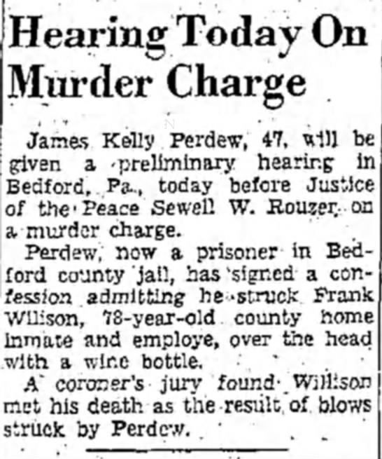 - Hearing Today On Murder Charge James Kelly ....