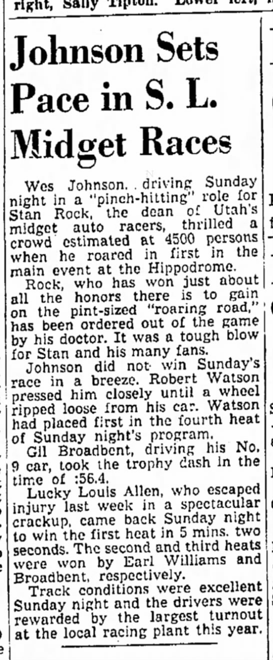 The Salt Lake Tribune (Salt Lake City, Utah) June 14 1948 page 16