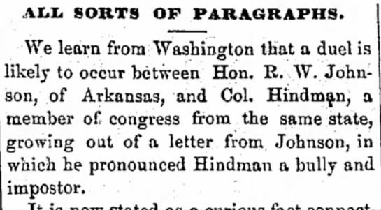 Janesville Daily Gazette/ Janesville Wisconson/ Tue 12 Dec 1859 p.2