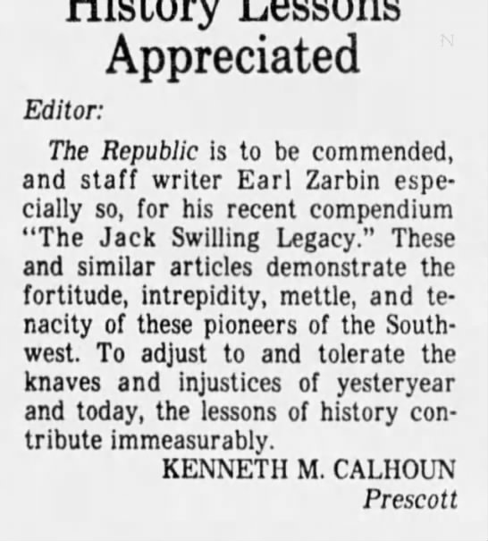 - Appreciated Editor: The Republic Is to be...