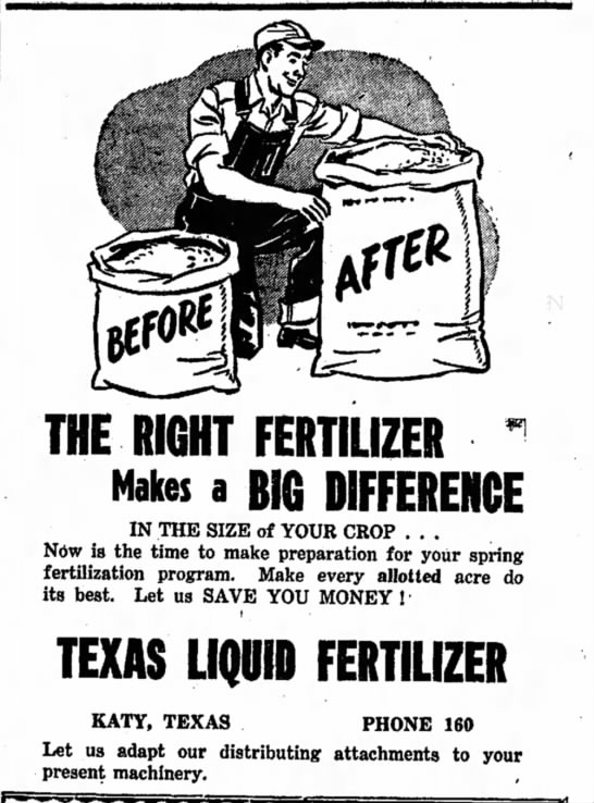 - THE RIGHT FERTILIZER ~ Makes a BIG DIFFERENCE...