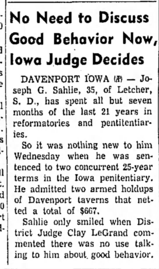 Austin Daily Herald MN 09-04-1958 - j No Need to Discuss Good Behavior Now, Iowa...