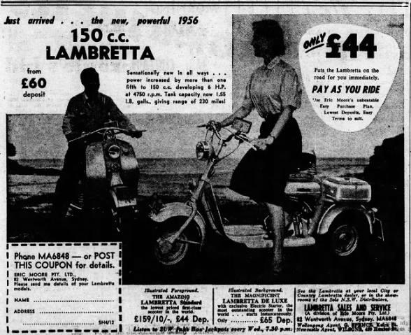 Lambretta Sales & Service (Eric Moore)