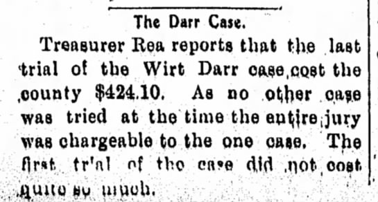 The Darr Case 1905p - The Darr Caw. Treaaurer Rea reports that the...