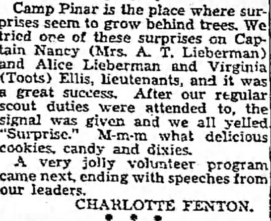 Scouting Honor